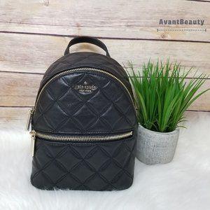 Kate Spade Mini convertible backpack Natalia Black